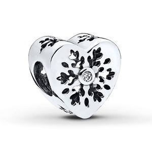 Never Worn Beautiful Snowflake Pandora Charm